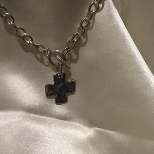 "10"" cross necklace"
